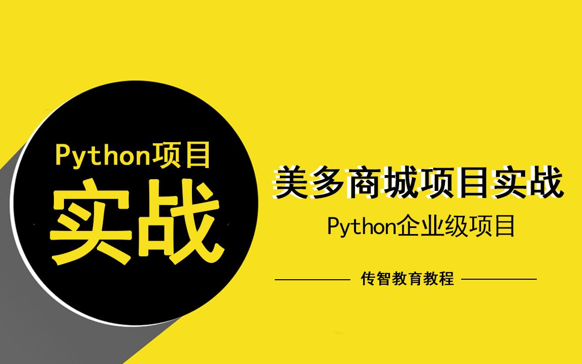python实战项目视频教程